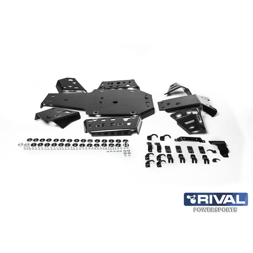 Rival plastic skid plate full set Yamaha Grizzly 700 2016-
