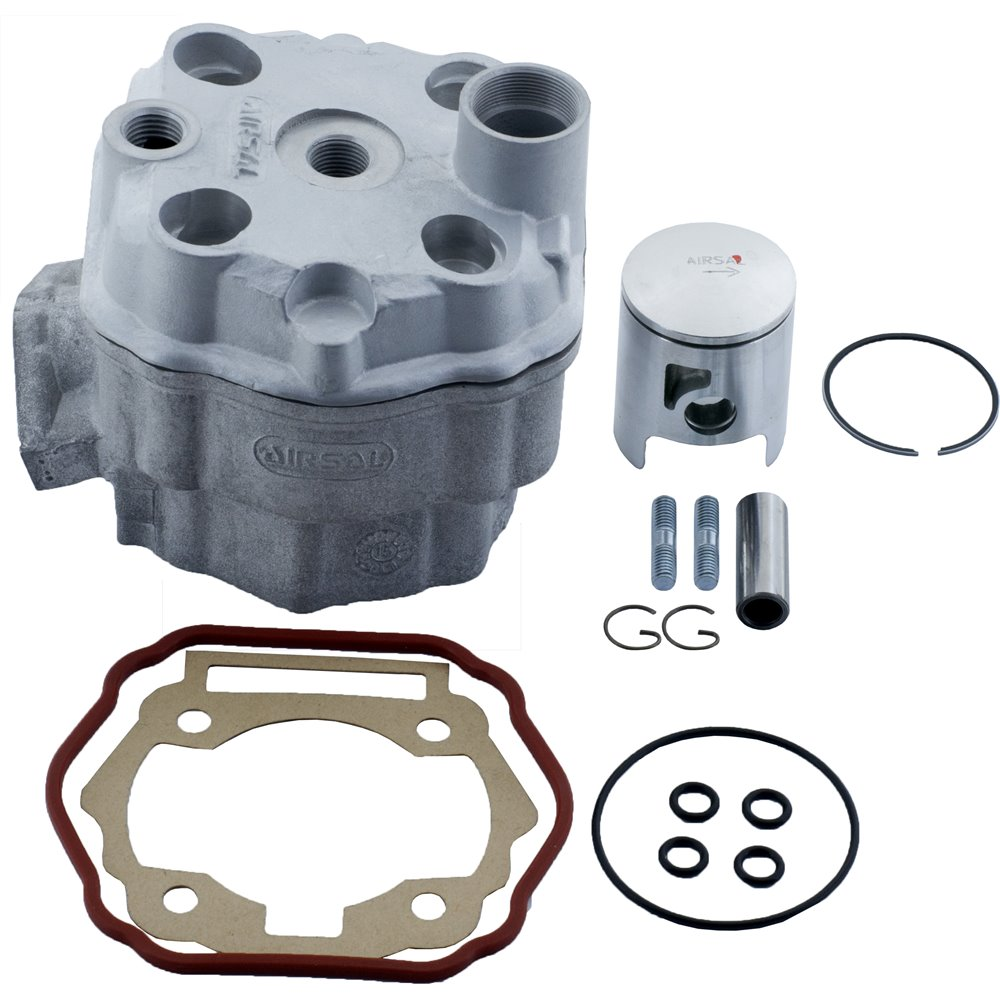 Airsal Cylinder kit & Head, 50cc, Derbi Senda 06- / Aprilia RX,SX 06- / Gilera