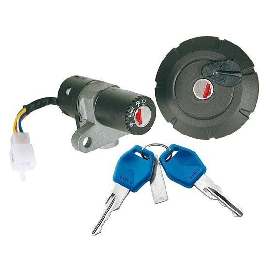 Ignition switch & Lock set, MBK X-Limit 07-11 / Yamaha DT 50 R, X 07-11