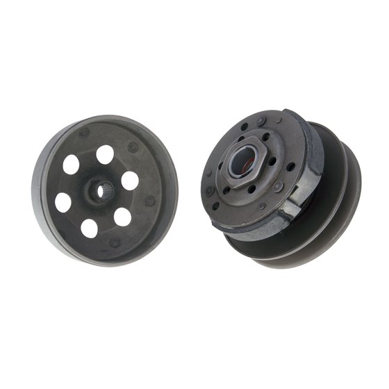 Drive assy, Ø 107mm, China-scooters 4-T / Kymco 2-,4-T / Peugeot 2-,4-T