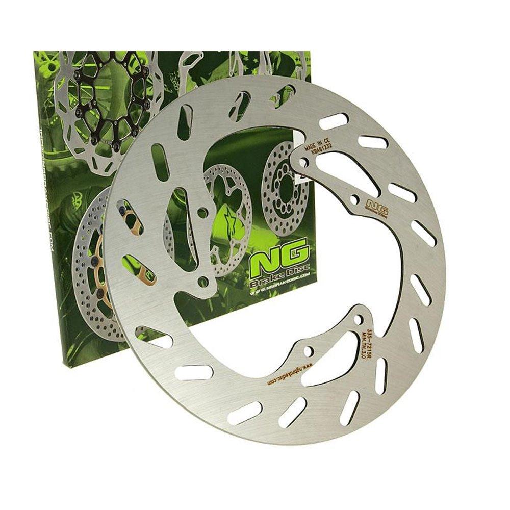 Brake disk, Front, Outer Ø 240mm, Derbo Senda