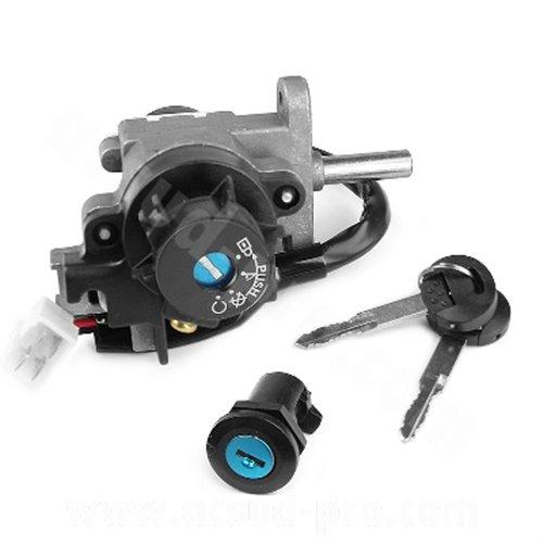 Ignition switch & Lock set, Peugeot Speedfight 3 & 4 2-S, 4-S