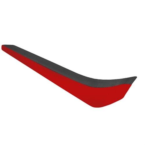 TNT Seat cover, Red/Black, Aprilia RX,SX 06- / Derbi Senda 03- / Gilera RCR,SMT
