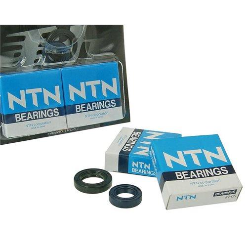 Naraku HD Crank bearings & Oilseals, Peugeot Vertical AC/LC E1 -02