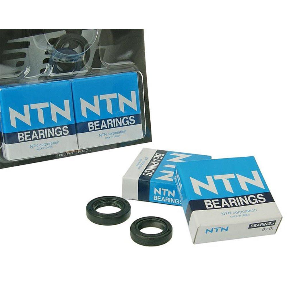 Naraku HD Crank bearings & Oilseals, Piaggi- / Gilera-scooter AC/LC