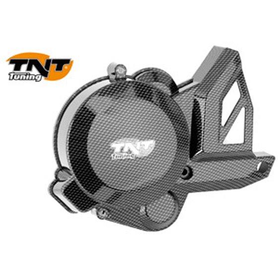 TNT Flywheel cover, Carbon-style, Derbi Senda 06- / Aprilia RX,SX 06- / Gilera S