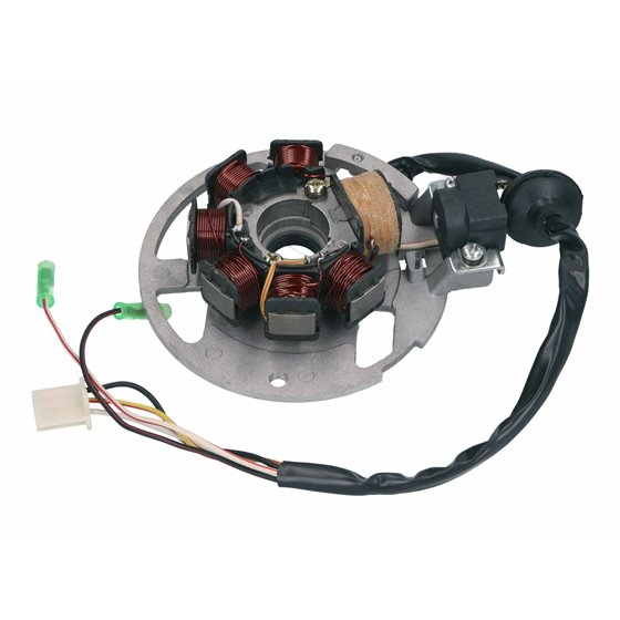 Stator, CPI- / Keeway-scooters 2-S, V.1 (3+1+1)
