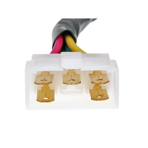 Regulator, 2-rows 4-pins, Kymco Agility City 4-T, Agility RS 2-S 4-S