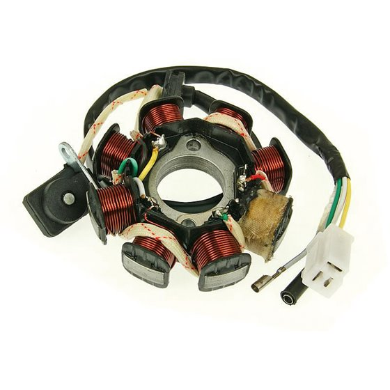 Stator, China-scooters 4-S 50cc, (3+1+1)