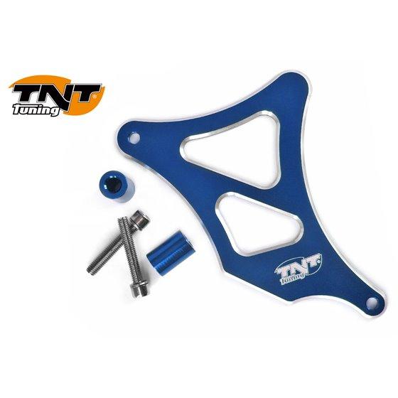 TNT Frontsprocket cover, Aluminium, Blue, AM6