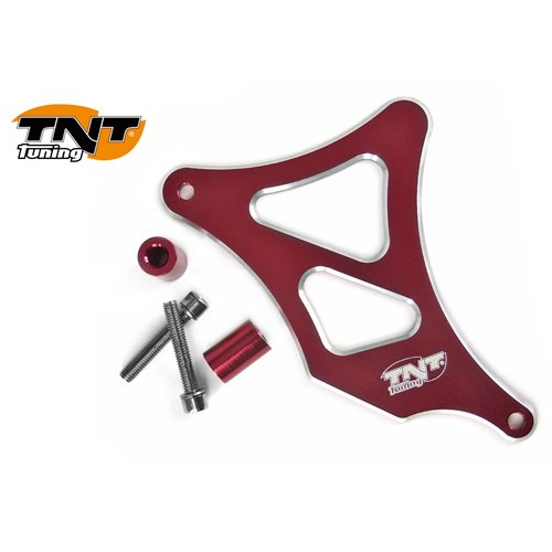TNT Frontsprocket cover, Aluminium, Red, AM6
