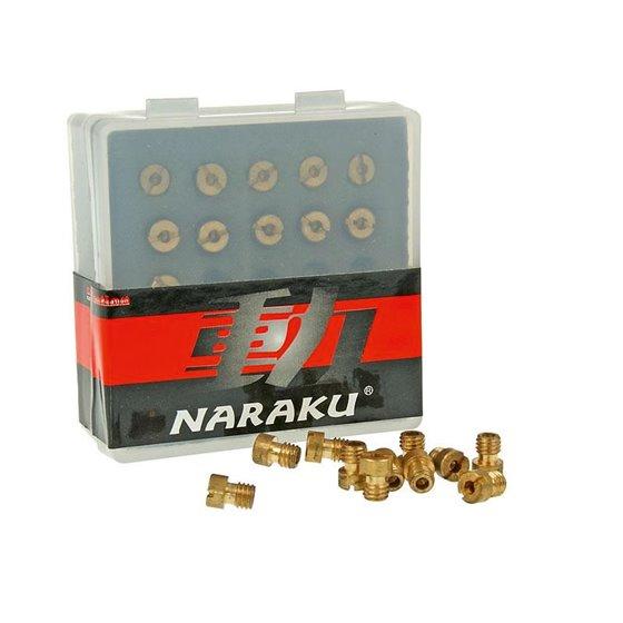 Naraku Main Jet set, 5mm, 80 - 100 (11pcs), Fits: Dellorto