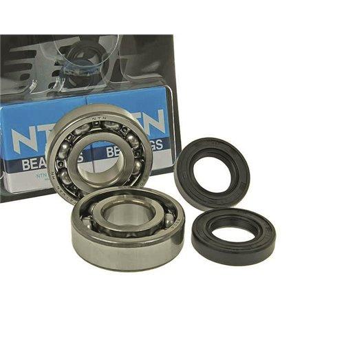 Naraku HD Crank bearings & Oilseals, Derbi Senda -05/06- / Aprilia RX/RS 06-