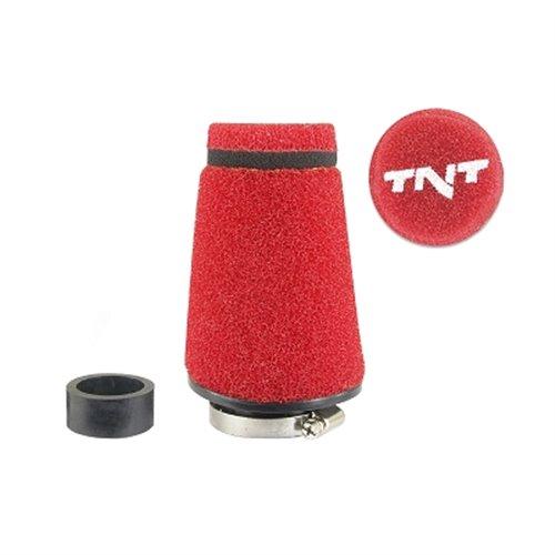 TNT Air filter, Speed, Red, Connection Ø 28/35mm, (Ø 70mm l. 100mm)