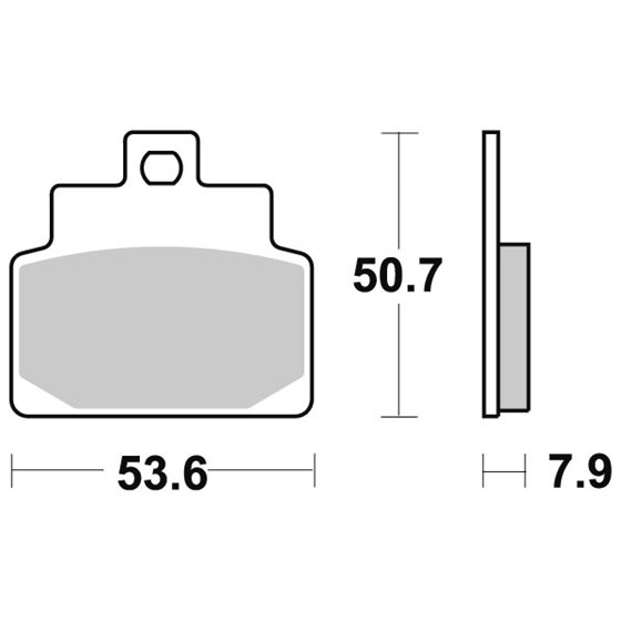Sbs Brakepads Ceramic (748HF)