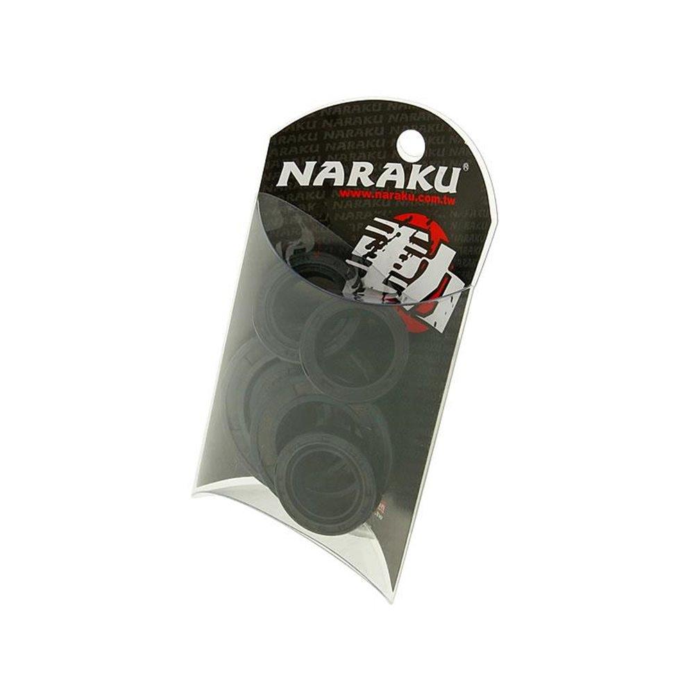 Naraku Oil seal set, Aprila- / Gilera- / Piaggio scooters 50cc AC/LC 2-S