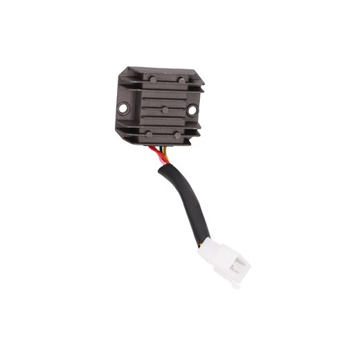 Regulator, Cable-model, 2-rows 4-pins, China-scooters 4-S 50cc