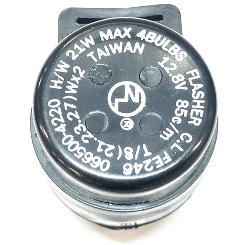 Flasher relay, Electronic, 2- & 3-pin, 12V (Max 4 x 21W)