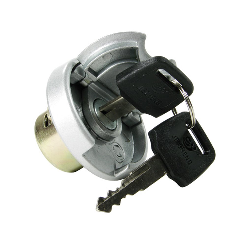 Gas cap, Lockable, China-scooters 4-T 50cc, Metal tanks