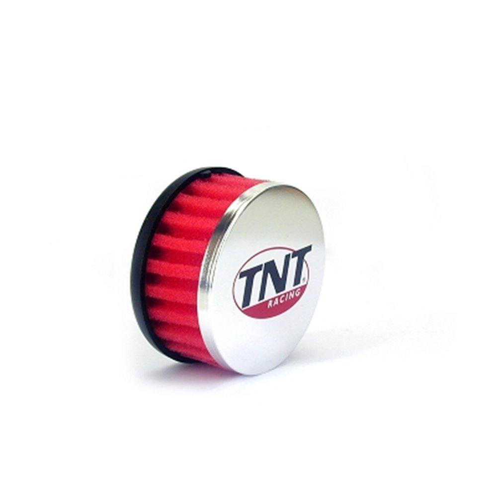 TNT Air filter, R-Box, Red, Connection Ø 28/35mm, (Ø 85mm l. 39mm)
