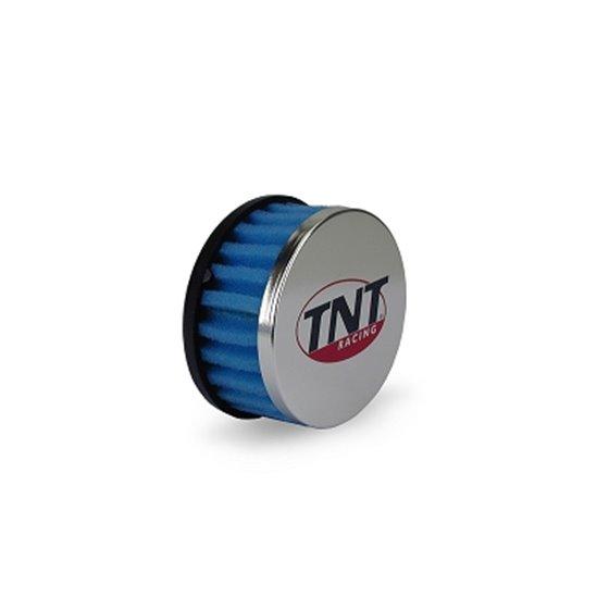 TNT Air filter, R-Box, Blue, Connection Ø 28/35mm, (Ø 85mm l. 39mm)
