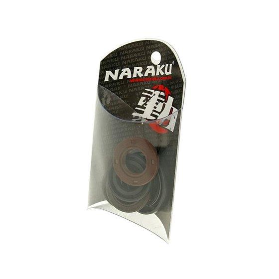 Naraku Oil seal set, China-scooter 4-S 50cc / Kymco 4-T / Peugeot 4-T / SYM