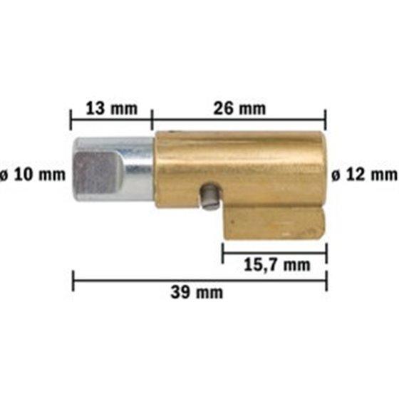 Tec-X Steering lock, Suzuki-type, Universal