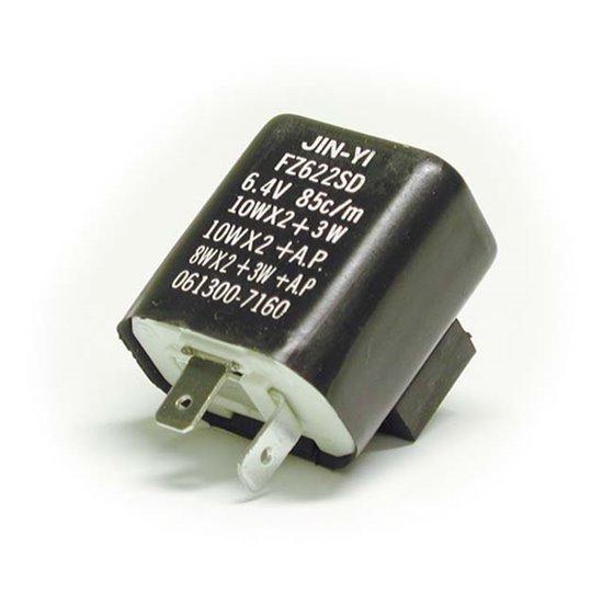 Flasher relay, Mechanical, 2-pin, 12V