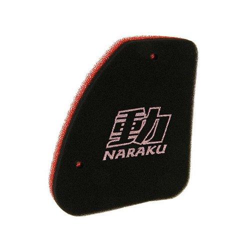 Naraku Air filter, Double Layer, Peugeot Vertical
