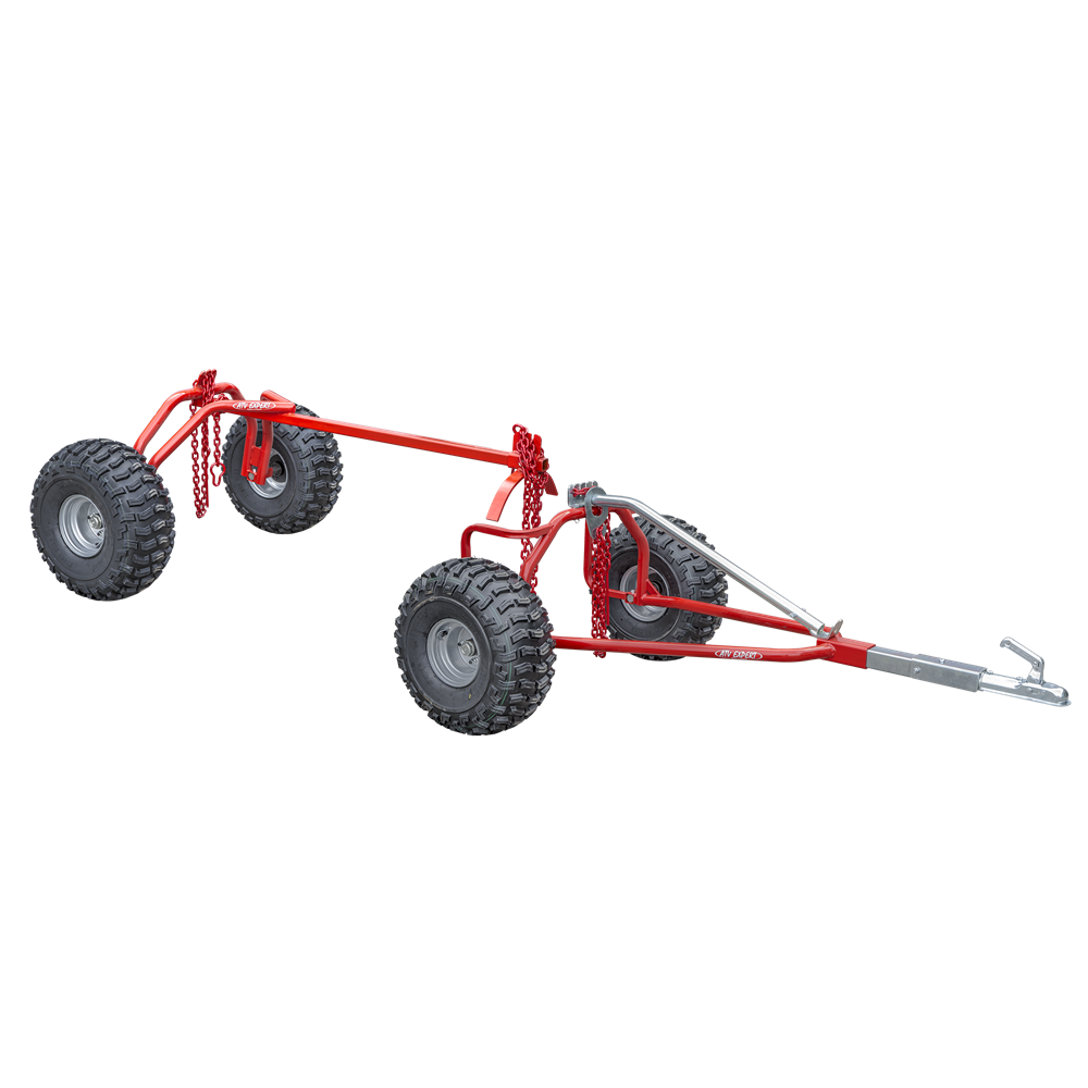 Ultratec Logging trailer + rear trailer (incl. 3 pcs choker chains)
