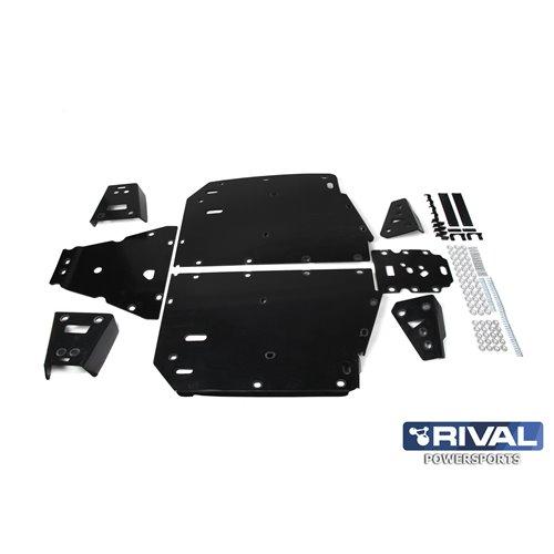 Rival plastic skid plate full set Polaris Ranger XP 1000 2018-19