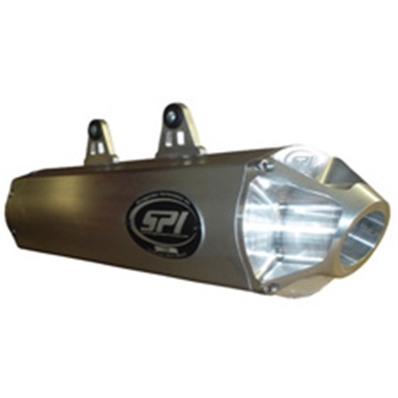 SPI Slip-On Exhaust Yamaha Grizzly 700 08-14