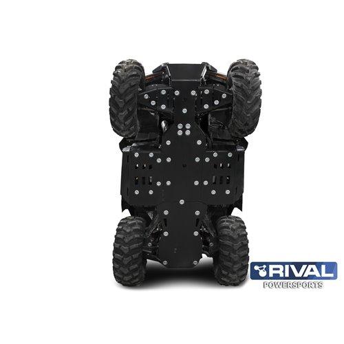Rival plastic skid plate full set CAN-AM OUTLANDER G2 STD/ MAX/ XMR 2019-