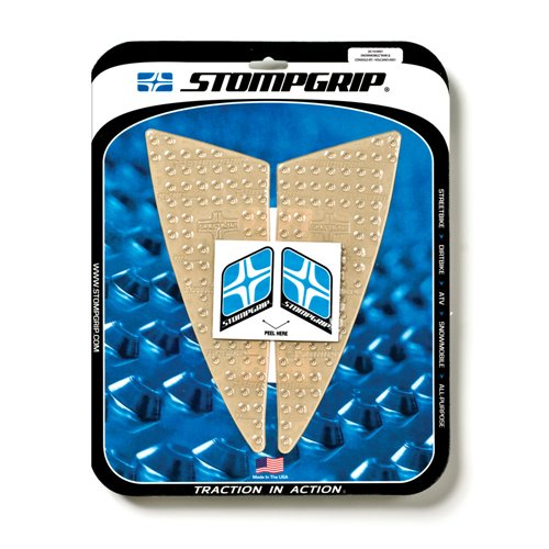 Stompgrip Snowmobile Tank & Console Grip - Volcano : Clear