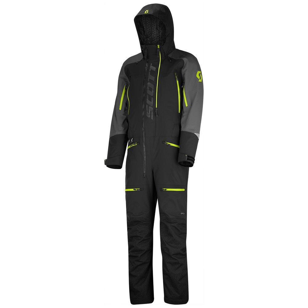 SCOTT Monosuit DS Shell Dryo  black/yellow D2XL