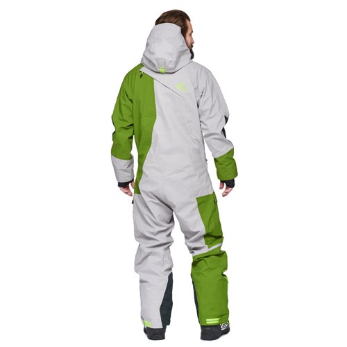 Sweep Amur Overall grey/green 2XL