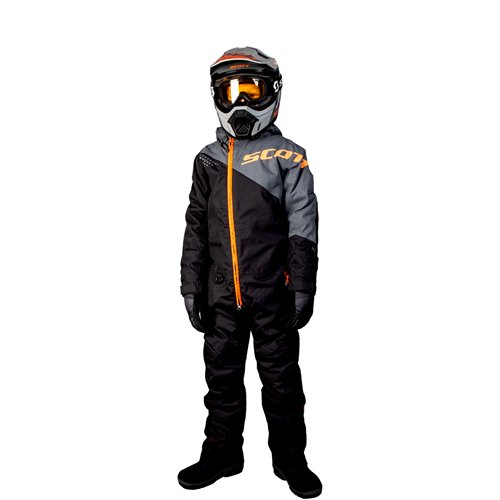 SCOTT Monosuit K's Dryo black/orange 130