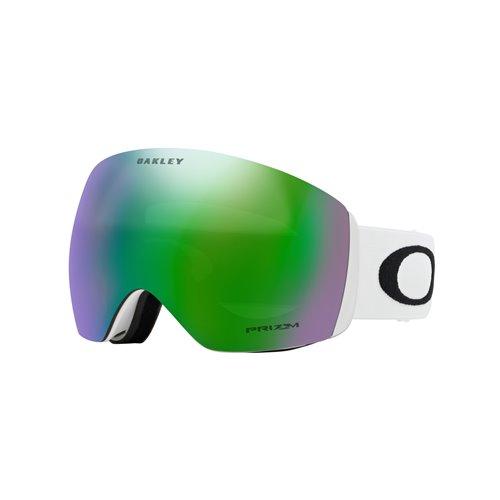 *Oakley Goggles Flight Deck Matte White Prizm Jade Iridium