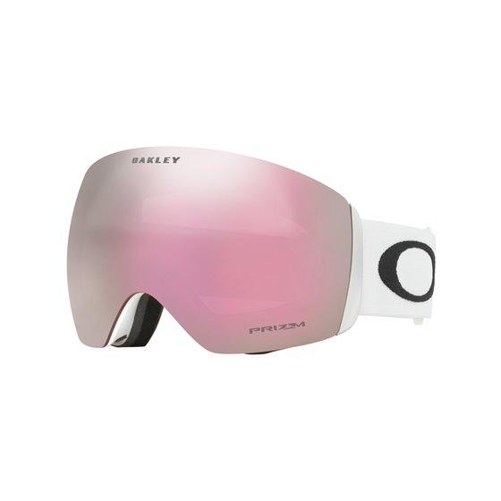 *Oakley Goggles Flight Deck Matte White Prizm Hi Pink Iridium