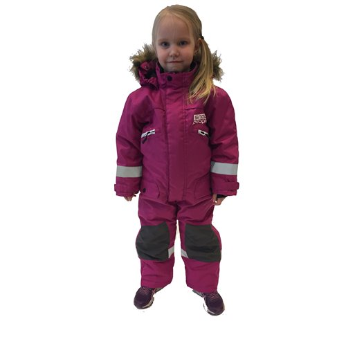 Snowpeople Junior Monosuit Kodiak pink 150