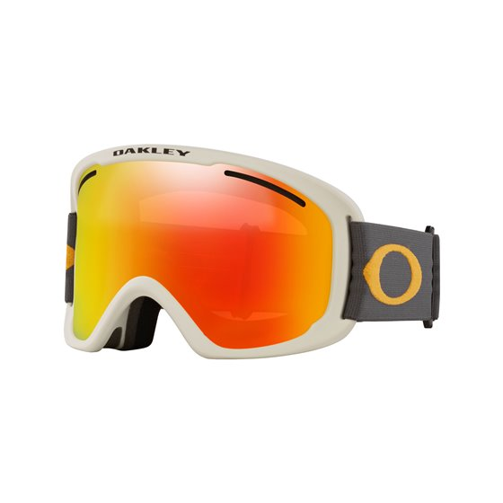 Oakley O Frame 2.0 Pro XL dark grey orange fire iridium & persimmon