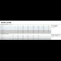 Woolpower 3/4 Long john  Merino base layer black S