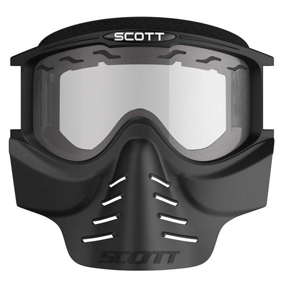 Scott Goggle 83X Safari Facemask black clear
