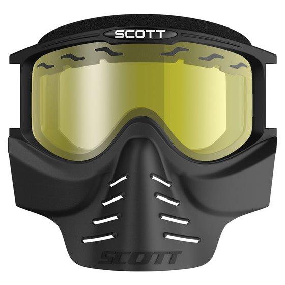 Scott Goggle 83X Safari Facemask black yellow