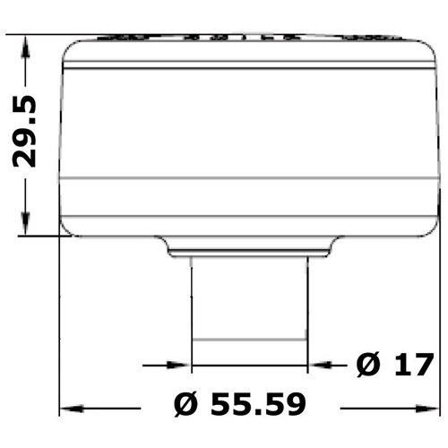 Evoled 360° mooring light AISI 316 SS - 360°
