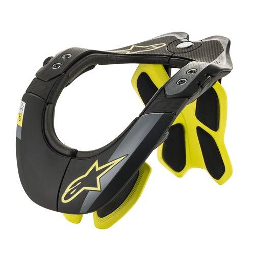 Alpinestars Bionic Neck Support Black/Yellow XS/M