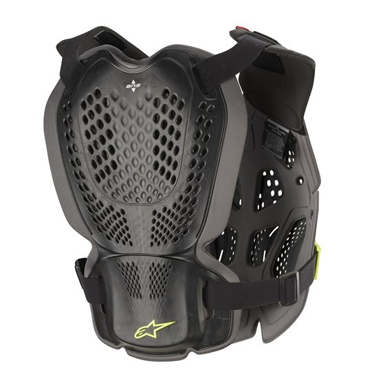 Alpinestars Chest Protector A-1 Plus Black/Yellow Fluo M-L