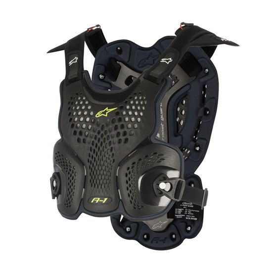 Alpinestars Breastprotector AS A1  Black XL-XXL