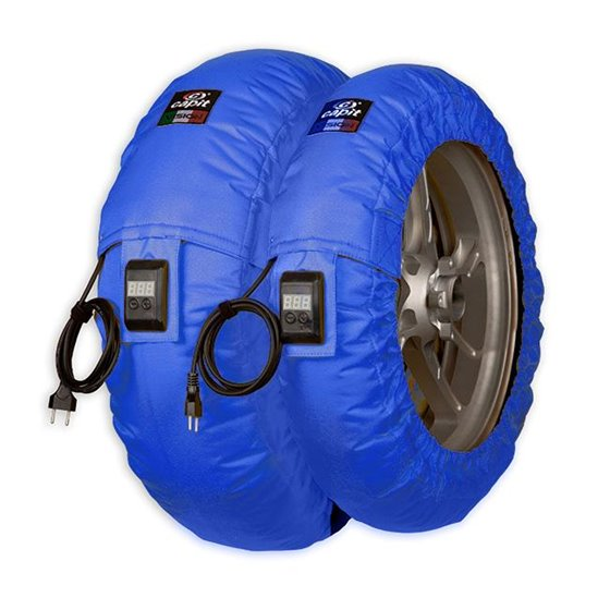 CAPIT Suprema Vision SBK/SS 120+180-205/17 Tyre warmers Blue