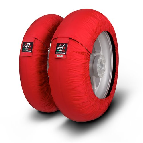 CAPIT Suprema Spina SM/SS 120+160-175-17 Tyre warmers Red